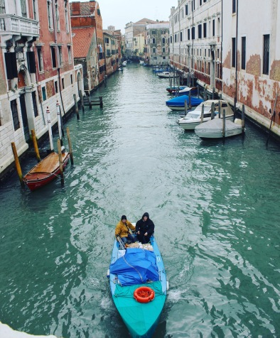 Boat is the new car in Venice